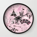 The gypsy Collection - Wild and Free Wall Clock