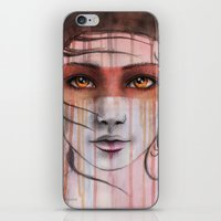 Amber Eyes iPhone & iPod Skin