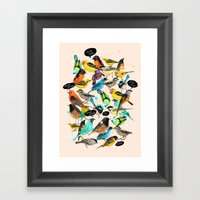 Chirp Chirrup Framed Art Print