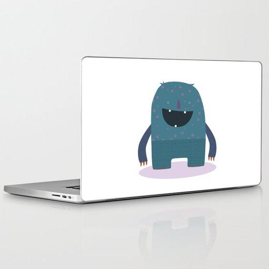 BLUE MONSTER Laptop & iPad Skin