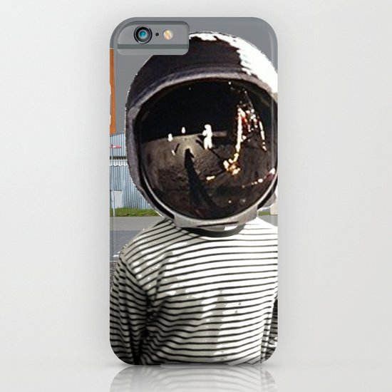 Space Kid in illusion City iPhone & iPod Case