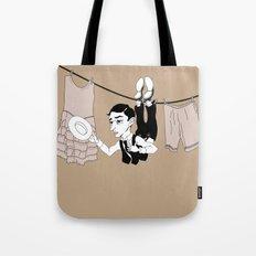 Buster Keaton Hello Neighbor! Tote Bag