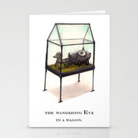 The Wandering Eye In A W… Stationery Cards