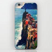 Cliff Living iPhone & iPod Skin