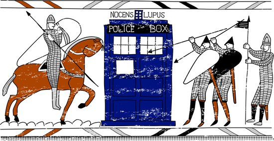 Nocens Lupus (Bad Wolf) Art Print