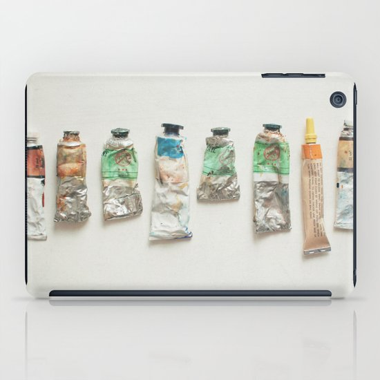 Oil Paints iPad Case