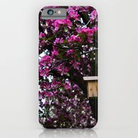 Flowers And Birdhouse 15 iPhone 6 Slim Case