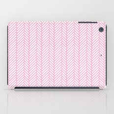 Herringbone Pink iPad Case