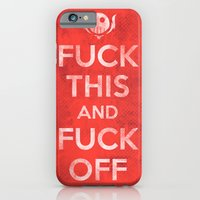 iPhone Cases featuring Public Service Announcement by Hector Mansilla