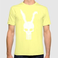 The Bunnisher Mens Fitted Tee Lemon SMALL