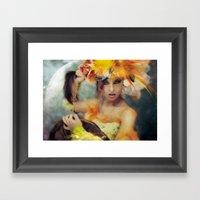 Elysa Framed Art Print