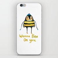 Wana Bee On You! iPhone & iPod Skin