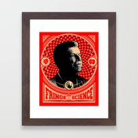 Walter Bishop - Fringe Science (RED) Framed Art Print