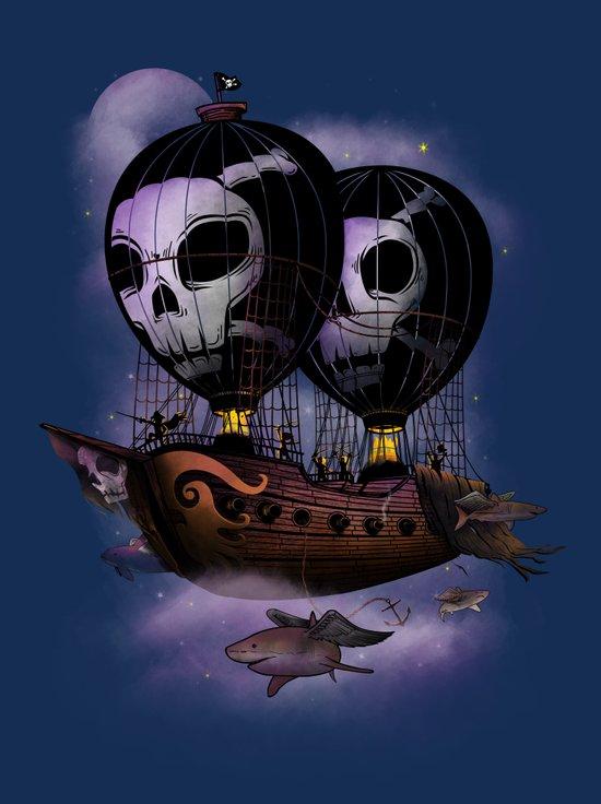 Hot Air Pirates Canvas Print