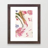 Pinku II Framed Art Print