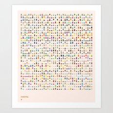 COASTAL 1 — Matthew Korbel-Bowers Art Print