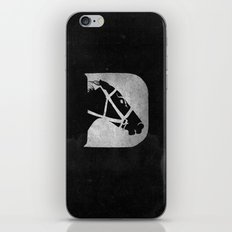 D is for Derby iPhone & iPod Skin