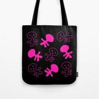 Aliens-Pink Tote Bag