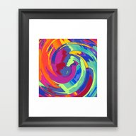 Spirale About Fox And Ta… Framed Art Print