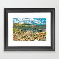 Zacatecas Mexico Framed Art Print