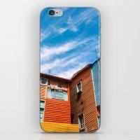 Colors At Caminito iPhone & iPod Skin