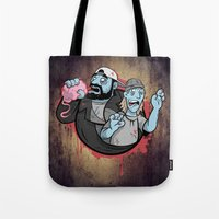 Bong Of The Dead Tote Bag