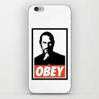 Obey Steve Jobs iPhone & iPod Skin