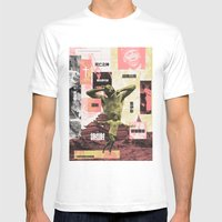 Prince Yama Appears Courtesy of the Honorable Reverend Joyce Musselman Shutt, 1937 Mens Fitted Tee White SMALL