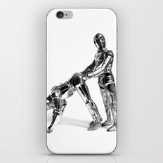 Droid Buttseks iPhone & iPod Skin
