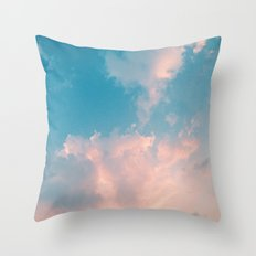 Cloudy With A Chance Throw Pillow