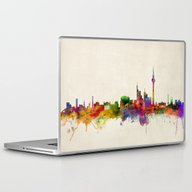 Berlin Germany Skyline Laptop & iPad Skin