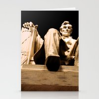 Lincoln Stirs Stationery Cards