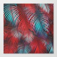 Tropical Tremolo Canvas Print
