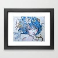 Nereid II Framed Art Print