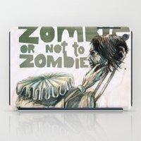Zombie + Shakespeare iPad Case