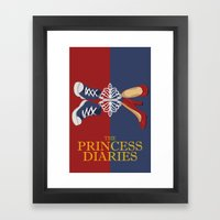 Princess Diaries Framed Art Print