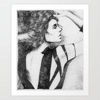 In Dots Art Print
