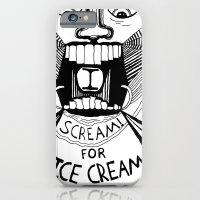 I Scream For Ice Cream iPhone 6 Slim Case