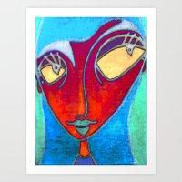 MATA HARI Art Print