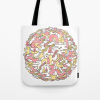 Sun Caves Tote Bag