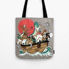 Miyazaki's ark Tote Bag