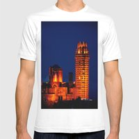 SEU VELLA, LLEIDA Mens Fitted Tee White SMALL