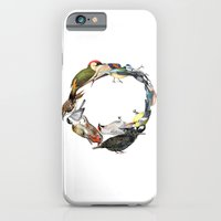 Bird Wreath iPhone 6 Slim Case