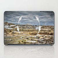 Oh darling, I wish you were here iPad Case