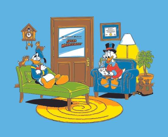Quack Therapy Art Print