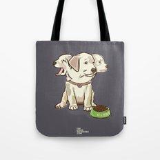 Cerberus Puppy Tote Bag