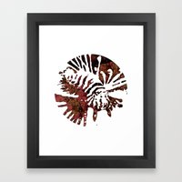 Lionfish  Framed Art Print