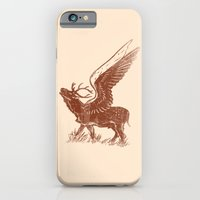 iPhone & iPod Case featuring Deer with wings by barmalisiRTB