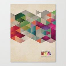 contemporary design Canvas Print