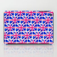 Watercolour Union Jack  iPad Case